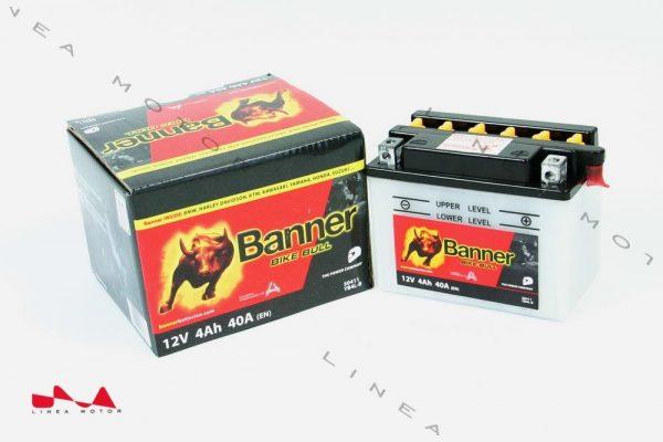 Banner Bike Bull YB4L-B motorkerékpár akkumulátor J+